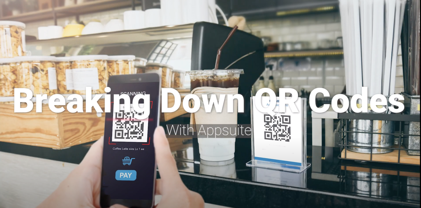 Breaking Down QR Codes With Appsuite